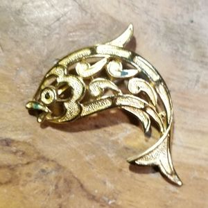 Trifari Fish Brooch